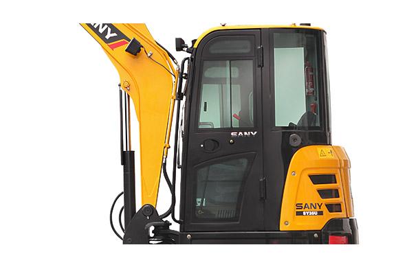 SY35U微型挖掘机1
